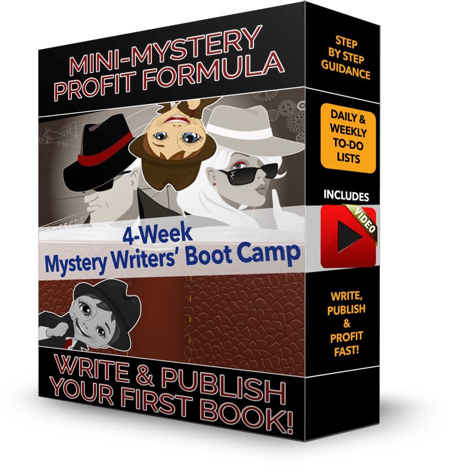 Mini-Mystery Profit Formula 4-Week Writers' Boot Camp by Shawn Hansen
